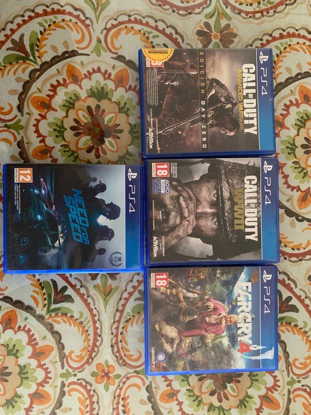 Juegos PS4 súper lote !!!