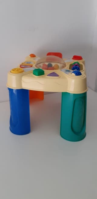 Lote de juguetes andador + cubo de actividades