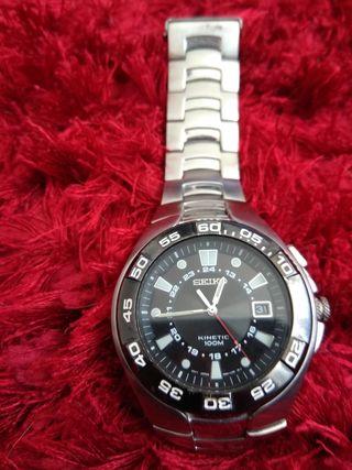 0c14f7f814d8 Reloj Seiko Kinetic de segunda mano en WALLAPOP