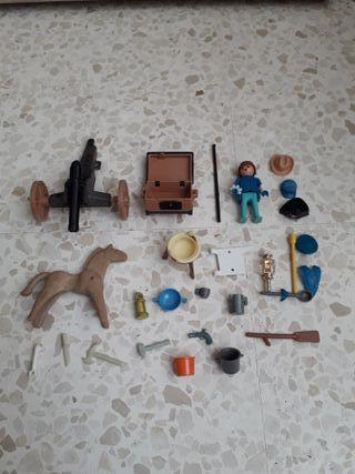 lote playmobil / famobil oeste cañon