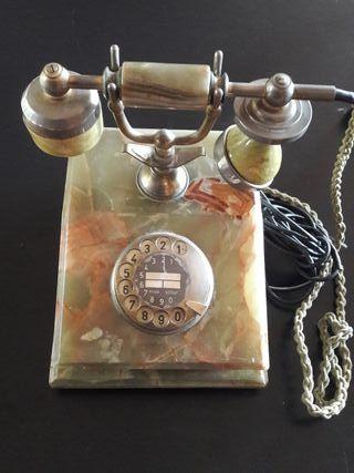 Precioso telefono de marmol vintage