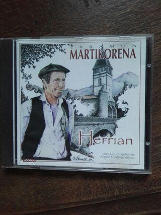 CD. DISCO. Erramun Martikorena.