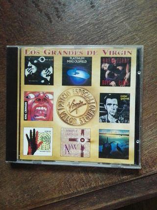 CD. DISCO. Los Grandes de Virgin.