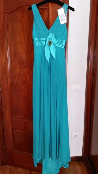 d1a0d6de10 Vestido de fiesta Rosa Clara de segunda mano en Madrid en WALLAPOP