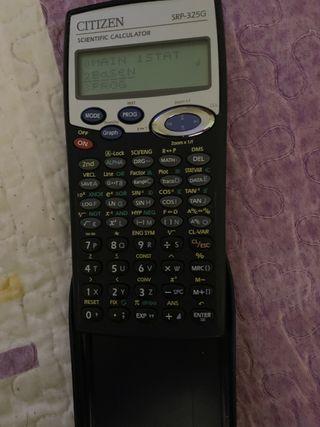Calculadora científica citizen Srp-325G