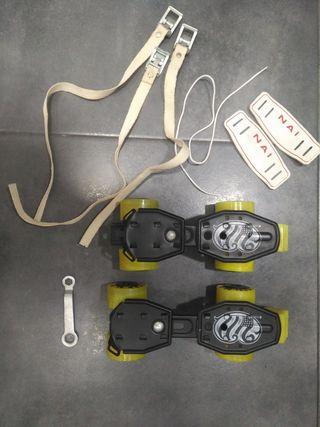 patines de hierro, antiguos.