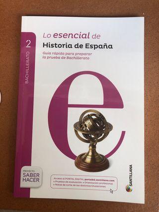 Guia Historia de España EBAU