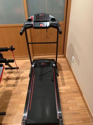 Vendo cinta de correr y banco de musculación