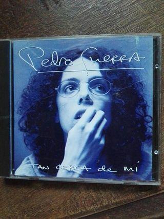 CD. DISCO. Pedro Guerra.