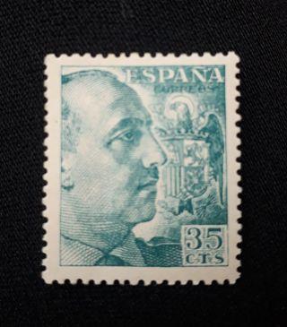 Sello Gral Franco 35 Cts