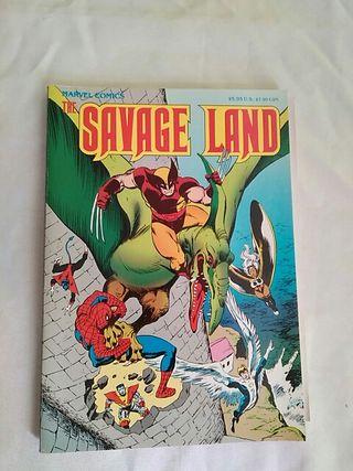 comic The Savage Land