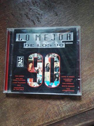 CD. DISCO. LO MEJOR DE LOS 90