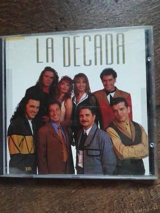 CD. DISCO. LA DECADA