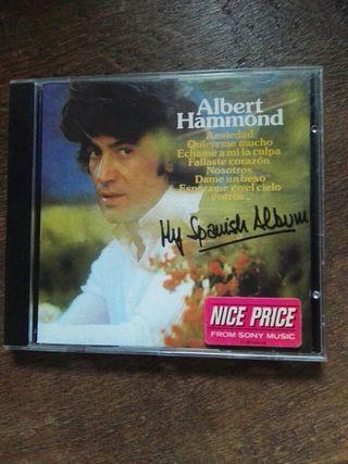 CD. DISCO. ALBERT HAMMOND