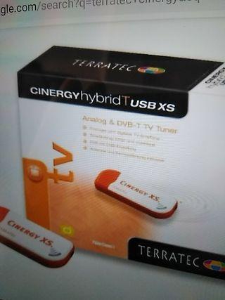 cinergy xs usb-tele en el ordenador