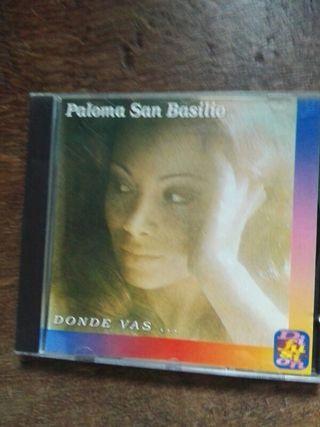 CD. DISCO. Paloma San Basilio.