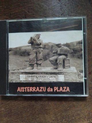 CD. DISCO. AISTERRAZU DA PLAZA.