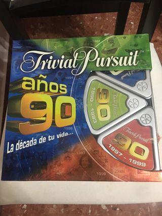 Trivial Pursuit años 90
