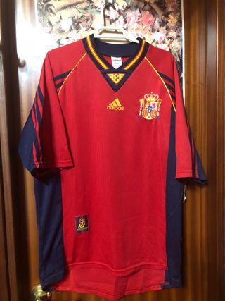 Camiseta Futbol Selección Española 1998