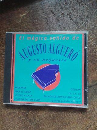 CD. DISCO. AUGUSTO ALGUERO.