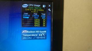 Portátil Acer aspire 5742g con ssd 120gb