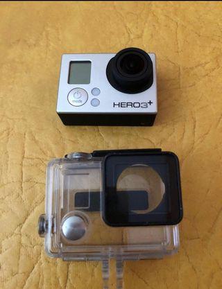 GoPro hero 3+ con todo los accesorios