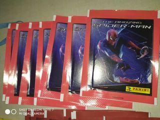 cromos sobres Amazing Spider-Man 1 y 2
