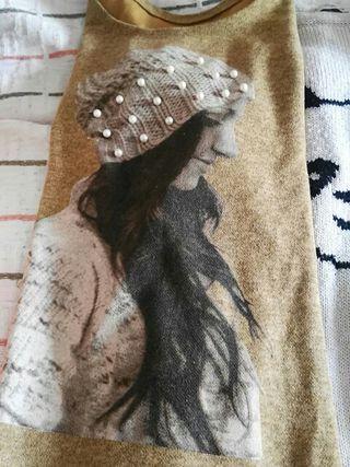 chalecos lana chica