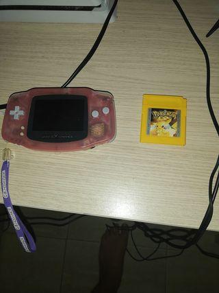game boy + pokemon
