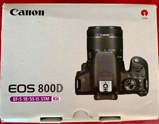 Canon EOS 800D nueva