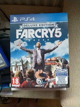 Far Cry 5 Edición Deluxe PS4