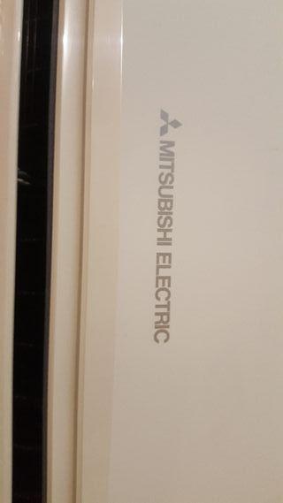 aire acondicionado con mando Mitsubishi
