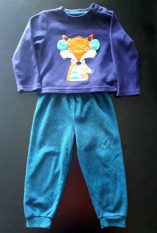 Pijama niño, talla 2-3años