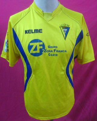 Camiseta Futbol Cádiz 2003-2004