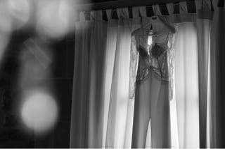 Precioso vestido de Novia de Rosa Clará