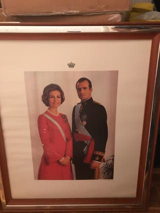 Cuadro de los reyes de España