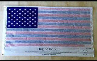 Bandera EEUU Homenaje 11S.