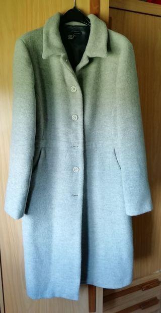 Abrigo gris talla L