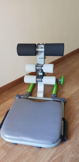 ejercicios abdominales asistidos