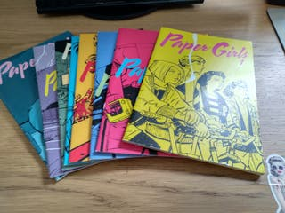 Cómics Paper Girls