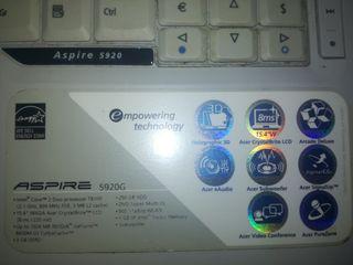 Portátil Acer Aspire 25€