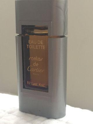 Miniatura Santos de Cartier.