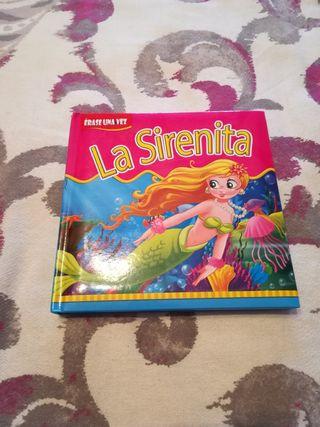 libro infantil la sirenita