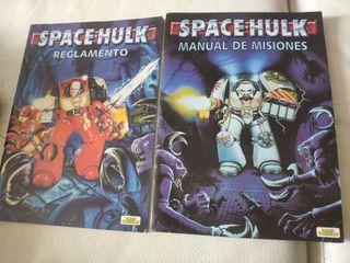 reglamento y manual de misiones space Hulk