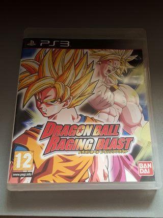 Dragon Ball Raging Blast- Ps3