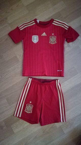 Traje niño original Adidas de Seleccion Española