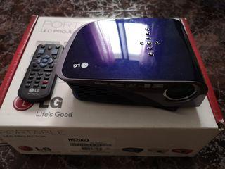 Proyector LED portable LG HS200G