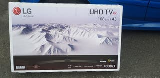 Smart TV 4K wifi ultra HD LG 44 pulgadas