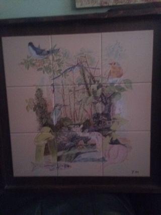 cuadro azulejos