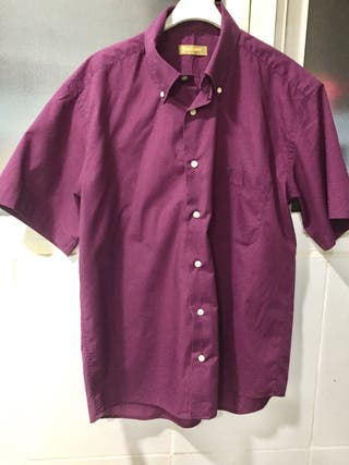 Camisa Hombre. M/C. Talla 4. 41-42